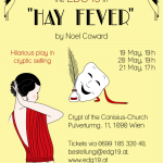 Poster for Hay Fever